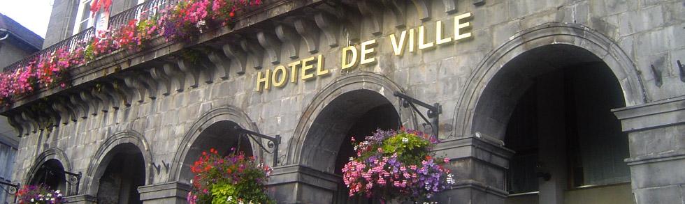 Hotel de Ville de Mauriac